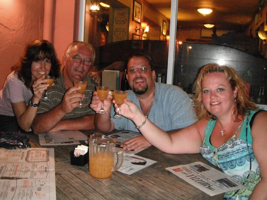Swizzle Inn: Enjoy a pitcher of Rum Swizzle
