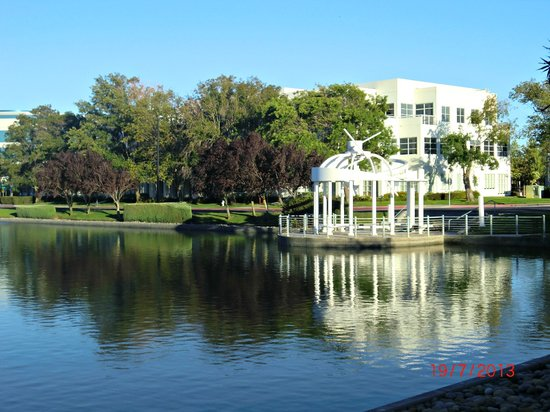 HYATT house Belmont/Redwood Shores: The Lake Beside The Hotel