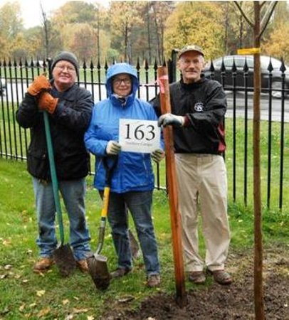 Forest Lawn: RETREEING 2012