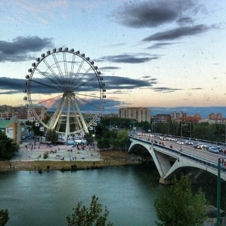 NH Ciudad de Zaragoza: las vistas desde mi habitacion. 309
