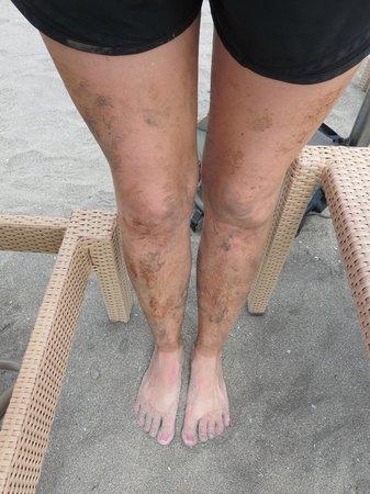 Nevis Peak Hike: Muddy hike