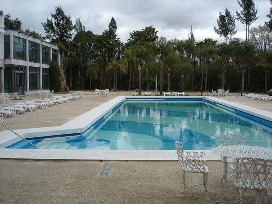Aquae Sulis Spa & Resort: Pileta en invierno