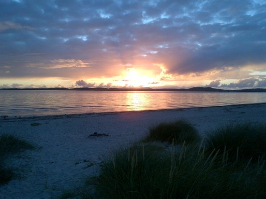 Point Sands Holiday Park: Spectacular Sunset