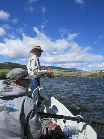 Gallatin River Guides: On the Madison