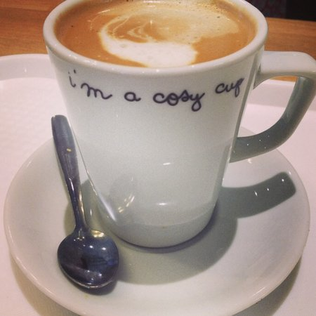 The Cosy Cup: A great selection of coffee, speciality real tea, milkshakes & more!