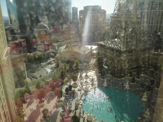 ปารีสลาสเวกัสโฮเต็ล: Vista do nosso quarto