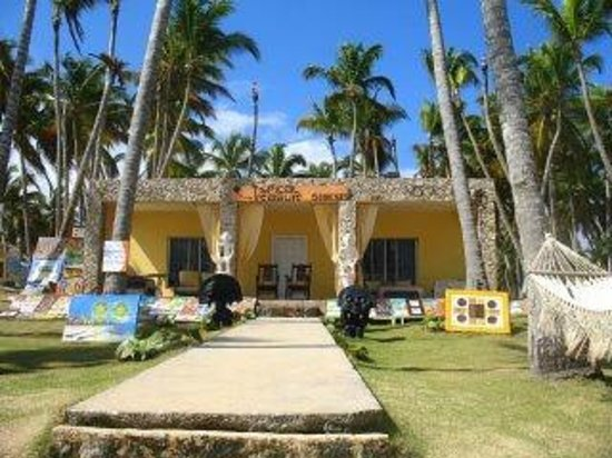 Uvero Alto, جمهورية الدومينيكان: View from the beach