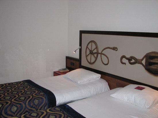 Mercure Hotel Amsterdam City: 2 goede bedden