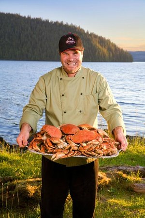 Waterfall Resort Alaska: All Meals are Included. Try a Taste of Alaska!