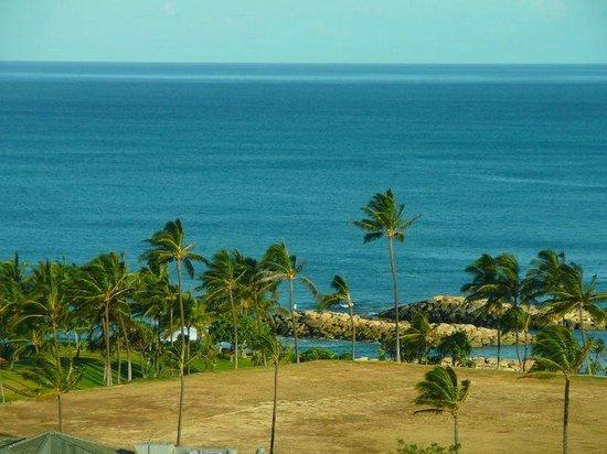 Beach Villas at Ko Olina: The view