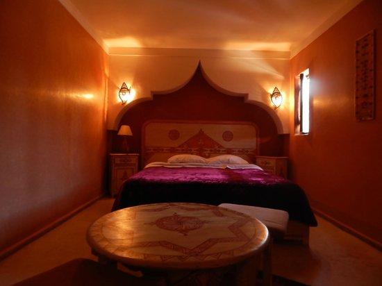 Riad l'Oiseau du Paradis : chambre Ibiscus