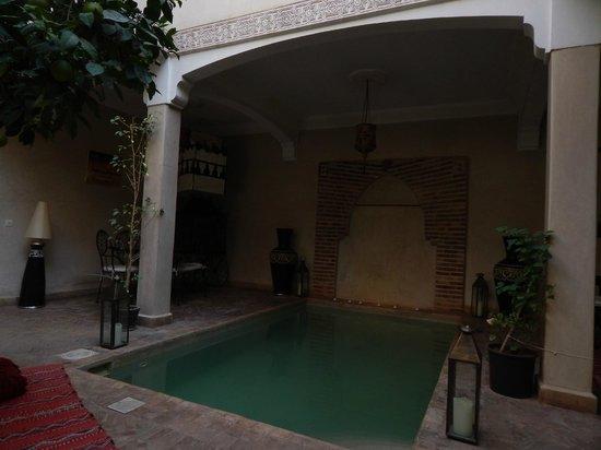 Riad l'Oiseau du Paradis: piscine