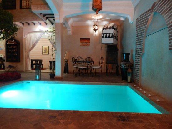 Riad l'Oiseau du Paradis : piscine