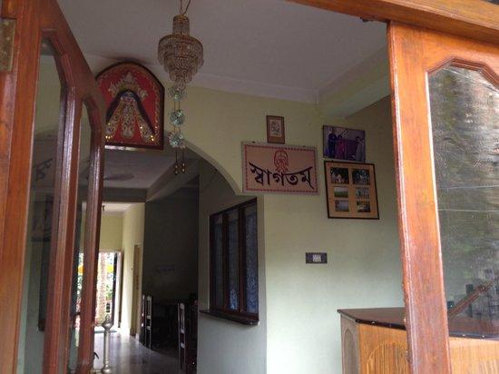 Taki, India: Entrance