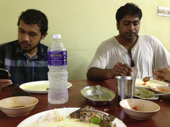 Taki, India: Very good food