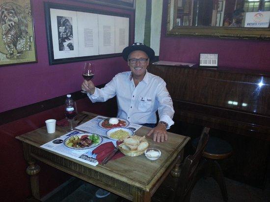 Al tavolo del Antico Caffe Boglione
