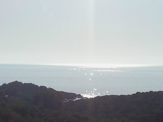 Park Hotel Asinara : L'alba dalla nostra finestra