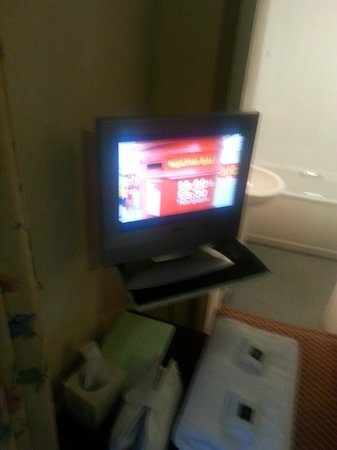 "Lomond Hills Hotel: approx 10"" tv"