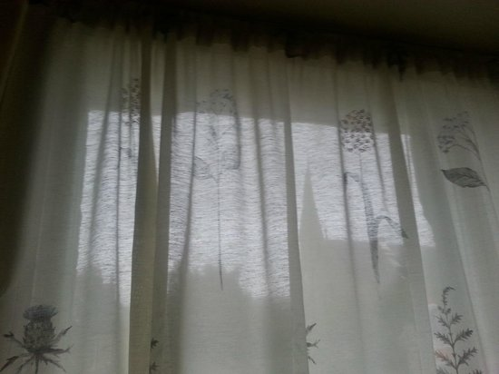 Lomond Hills Hotel: The net curtains