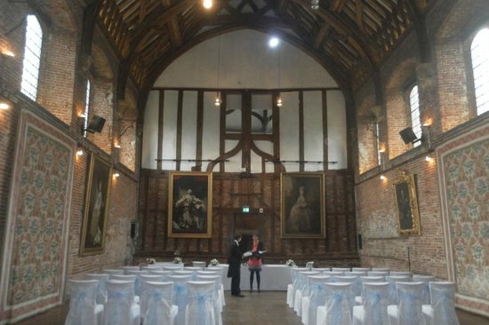 Hatfield House : main hall