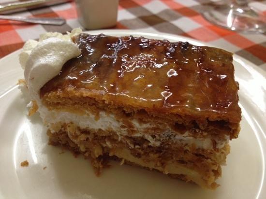 La Botella: tarta milhoja