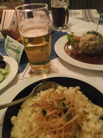 Gasthof Watzmann: Great Bavarian food