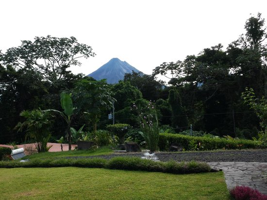 Nepenthe B&B: Excellent view of Mt. Arenal