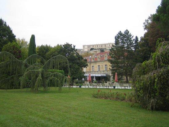 Manoir de la Roseraie : le parc