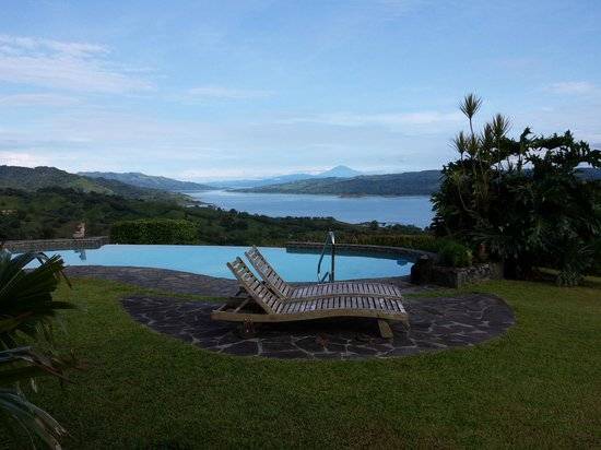 Nepenthe B&B: Excellent view of Lake Arenal