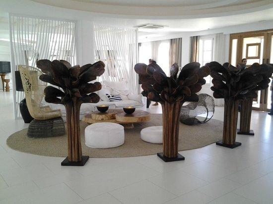 Myconian Villa Collection : Lobby del Hotel