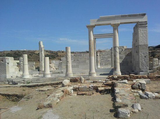Temple of Demeter: Temple de DEMETER Naxos