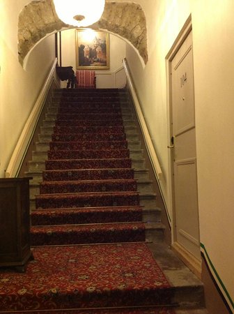 St Olav Hotel: Getting to the room