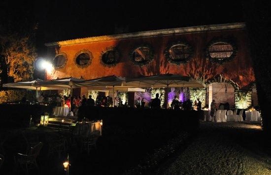 Villa Grabau : Lemon tree house at night