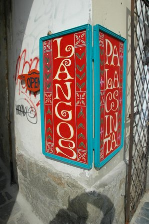Langos Stand : The red sign on Fo Ter