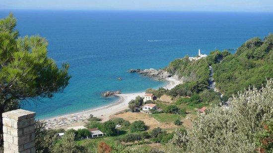 Anema by the Sea Guesthouse: Вид на пляж Потами