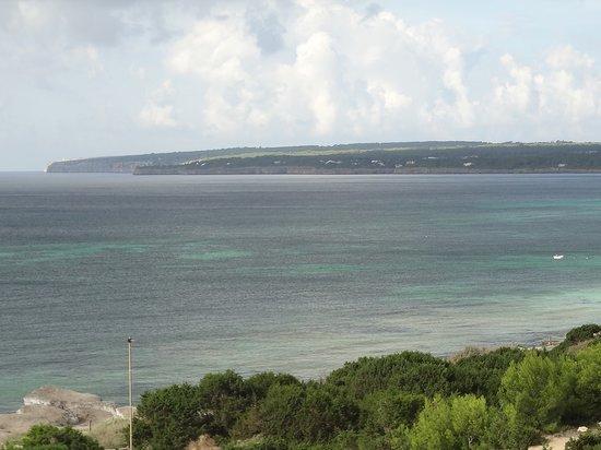 Insotel Hotel Formentera Playa: Balkonblick - Zimmer 423