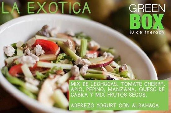 Green Box : salads!