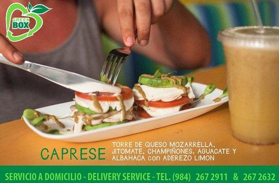 Green Box : salad!