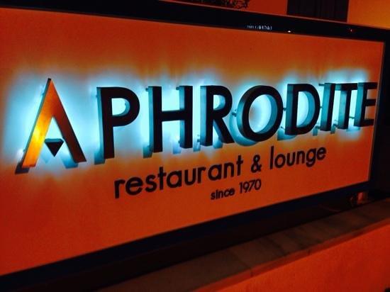 Aphrodite Restaurant: Aphrodite