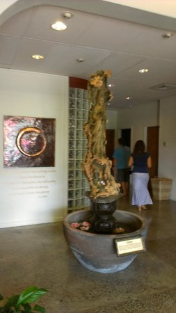 Still and Moving Center: In the main lobby