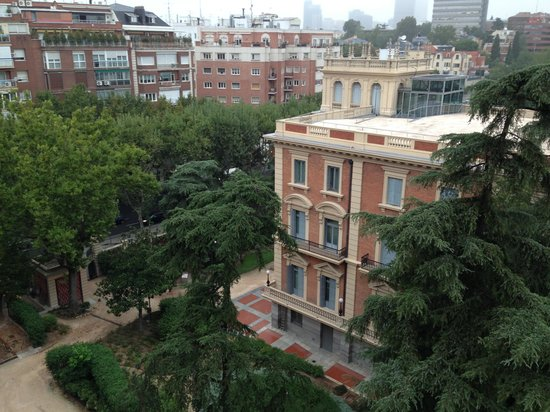 Hotel Suites Barrio de Salamanca: Los jardines