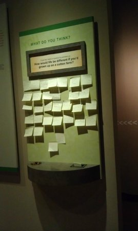 Levine Museum of the New South: Reaction board to share your thoughts