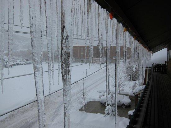 Chateau Apres Lodge: winter