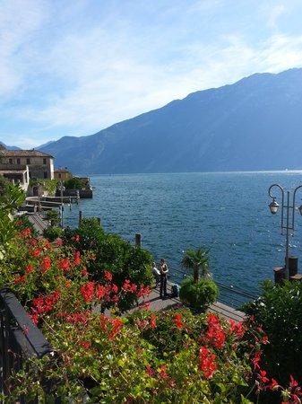 Hotel all`Azzurro: Terrace view