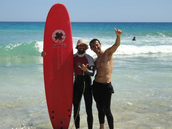 Corralejo Surf School - 1 Day Lesson: Alex y yo