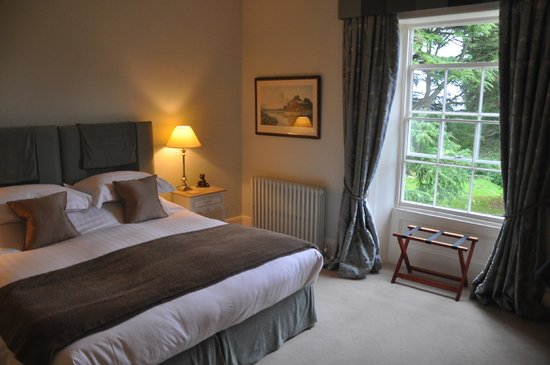The Old Rectory Bed and Breakfast: Blue room