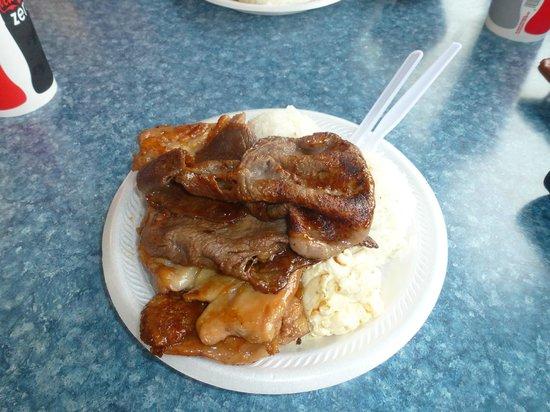 Hukilau Cafe: BBQ Plate