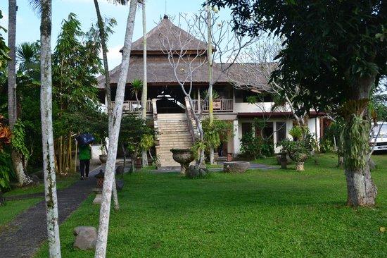 Bumi Ubud Resort: reception