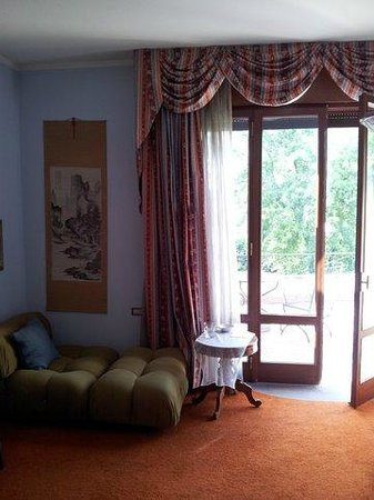 Bed & Breakfast Villa Irma: Suite with view onto private room terrace