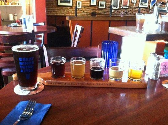Anacapa Brewing Company: Beer Sampler